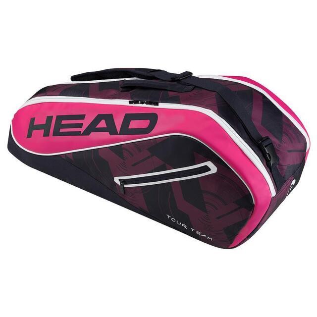 Team 6r Combi Tennis Bag Navy Pink