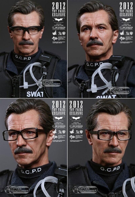 Hot Toys The Dark Knight Jim Gordon swat