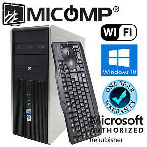 HP-Tower-Computer-PC-2-93Ghz-4GB-500GB-DVDRW-WiFi-Windows-10-Professional-64