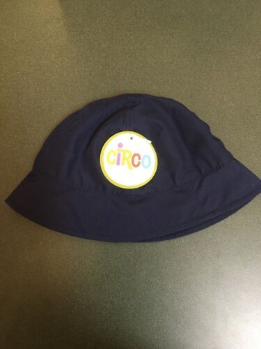 CIRCO Boy OXFORD NAVY BLUE Bucket BEACH//SUN HAT Size Toddler 3T NEW!