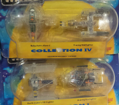 X-RAY FLEET COLLECTION SERIES 1,2,3 /& 4 MADE BY GALOOB IN 1995 STAR WARS