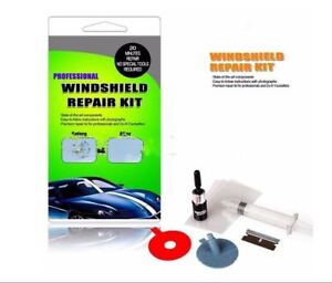 Windshield Repair Kit >> Details About Windshield Repair Kit Quick Fix Diy Car Wind Glass For Bullseye Chip Crack Tool