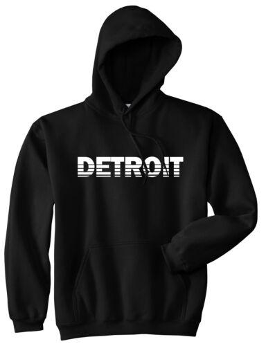 Detroit Michigan State City College University Pullover Hoody Hoodie