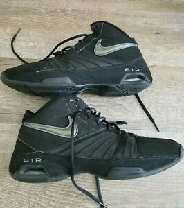7cfbace2d4f Men s Size 9 Nike Air Visi Pro 2 Black Athletic Basketball Shoes