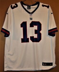Wholesale NEW YORK GIANTS #13 ODELL BECKHAM JR COLOR RUSH WHITE NFL JERSEY | eBay