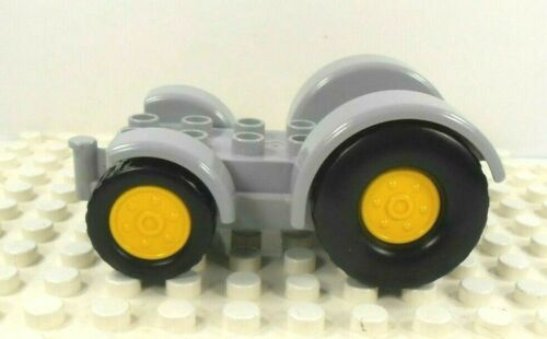 Lego Duplo Tractor Base 2x6 gray