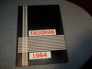 1964-PITMAN-HIGH-SCHOOL-YEARBOOK-PITMAN-NJ-TALISMAN