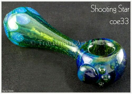 "Trautman Art Glass /""Shooting Star/"" boro//ak33 °"