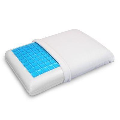 Memory Foam Pillow w/ Cooling Gel - Orthopedic Bed Pillow - Reversible