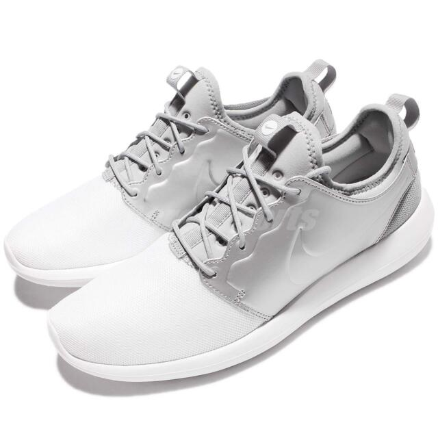 size 40 33508 b958b Nike Roshe Two 2 Rosherun Metallic Silver Men Running Shoes Sneakers  844656-100