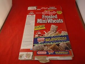 Super Nintendo SNES Frosted Mini-Wheats