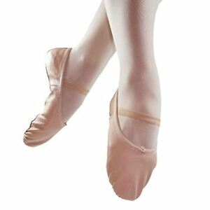 Danzcue-Child-Full-Sole-Leather-Ballet-Slipper