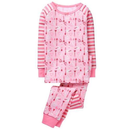 NWT Gymboree Girls Gymmies Valentine Pajama Set 3 4,5,6,7,8,12