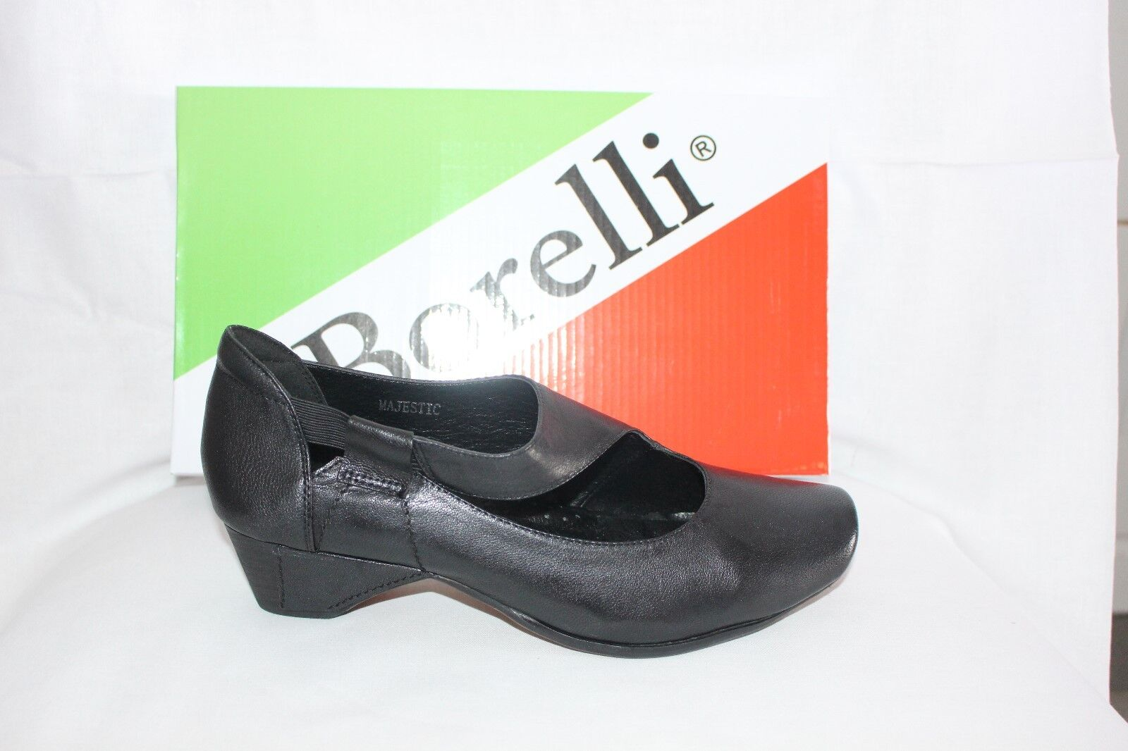 LADIES scarpe FOOTWEAR - Borelli Majestic court scarpe nero