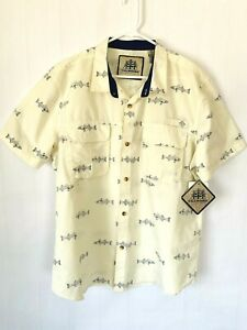 Tallwoods-Element-Wear-Button-Up-Shirt-Sz-XXL-Ocean-Fishing-Angler-New-w-Tags