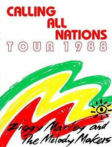 ZIGGY-MARLEY-1988-CALLING-ALL-NATIONS-TOUR-CONCERT-PROGRAM-BOOK-NMT-2-MINT