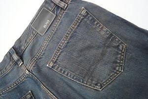 HUGO-BOSS-Texas-Herren-Men-Jeans-Hose-32-32-W32-L32-stonew-Vintag-blau-TOP-AD28