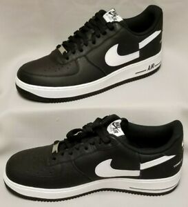 size 40 17f37 2a983 Details about NIKE Air Force 1 x Supreme x CDG Mens Size 12 Black/White  AR7623 001