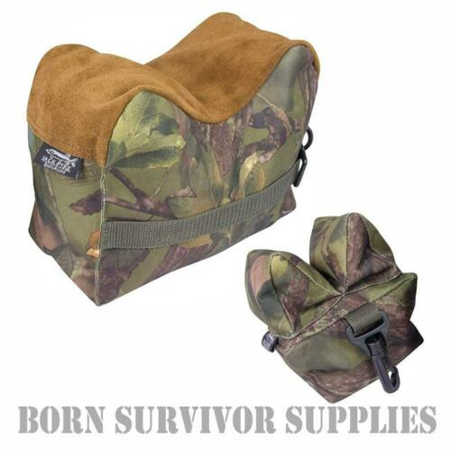 JACK PYKE Rifle rest set-Shooting Rest bag Airgun HFT FT Target Gun Bench Camo