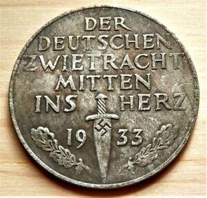 WW2-GERMAN-COMMEMORATIVE-COLLECTORS-COIN-039-33
