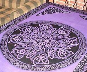 Purple Mandala Tapestry!
