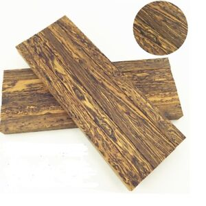 2-pcs-Mexico-Cocobolo-Wood-for-Knife-handle-scales-blanks-material-120x40x10mm