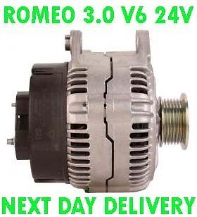 Alfa Romeo 166 3.0 V6 24 V 1996 1997 1998 1999 2000 2001-2005 Alternador
