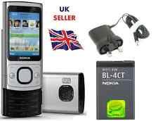 NUOVA condizione Nokia 6700 SLIDE SILVER Brand 3g Sbloccato Telefono Cellulare classico