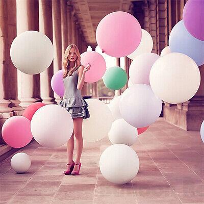 5 Stück 36 Zoll Luftballons XXL Riesenballon Latex Ballons für Party Hochzeit