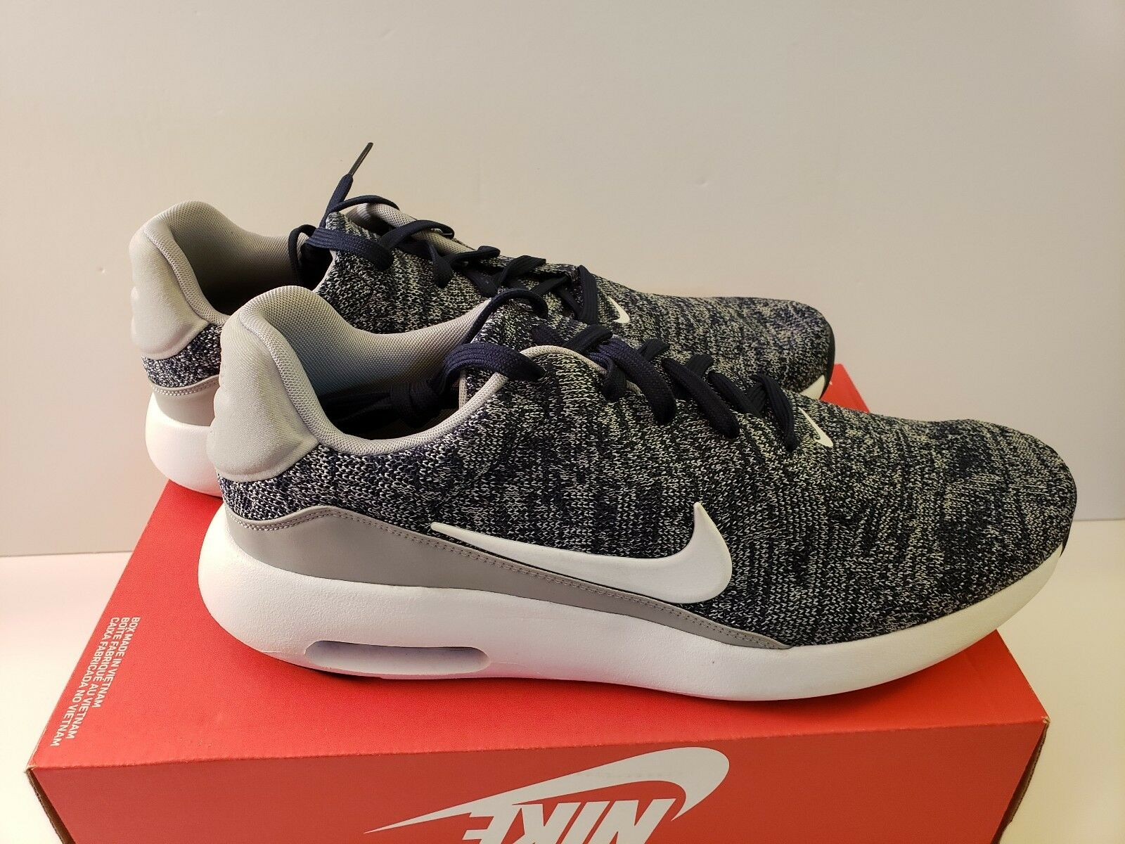 nike air max gris flyknit moderne les chaussures 876066-400 loup gris max taille 11,5 9940b1