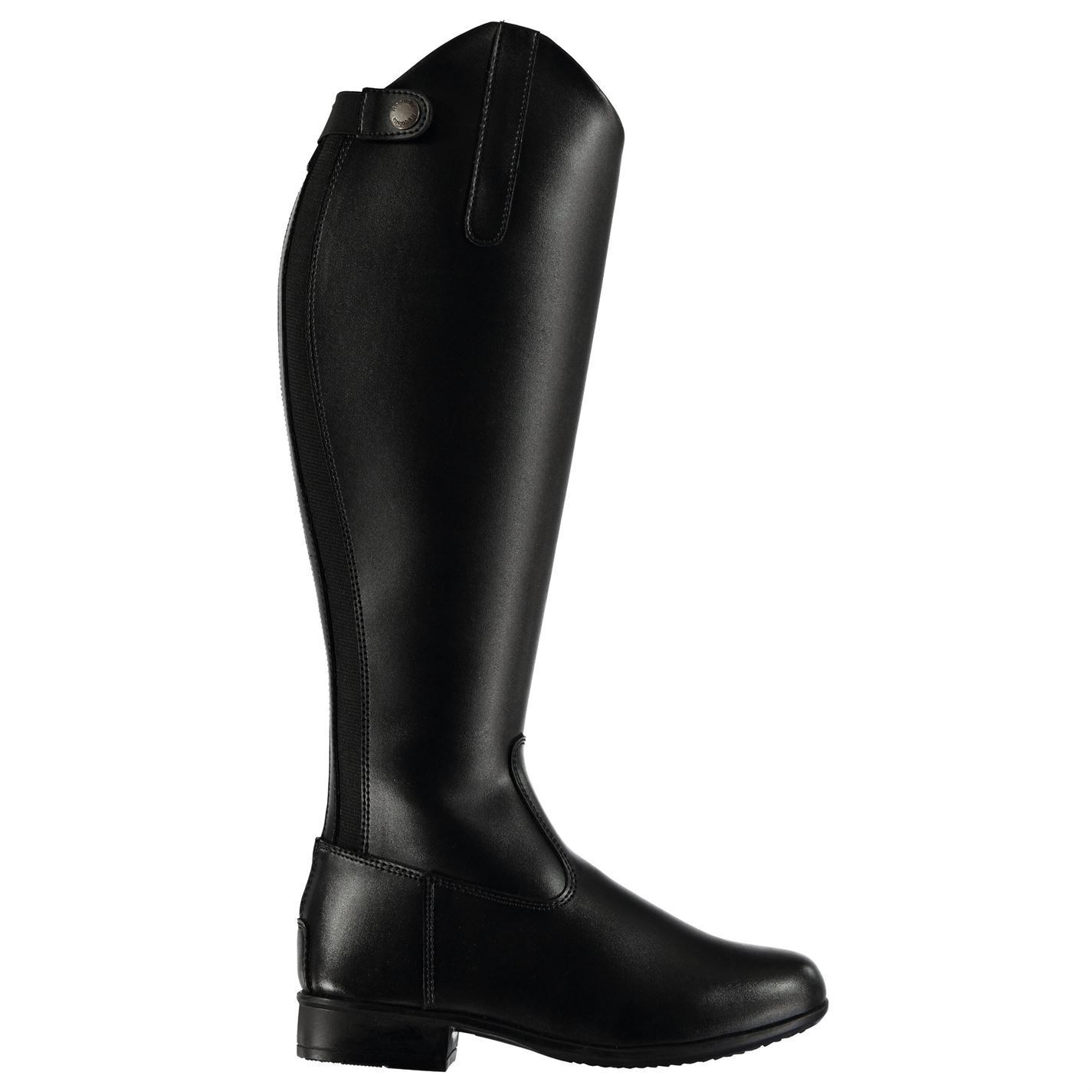 Requisite femmes Foxhill Riding bottes Long Zip Water Resistant Hacking Schooling