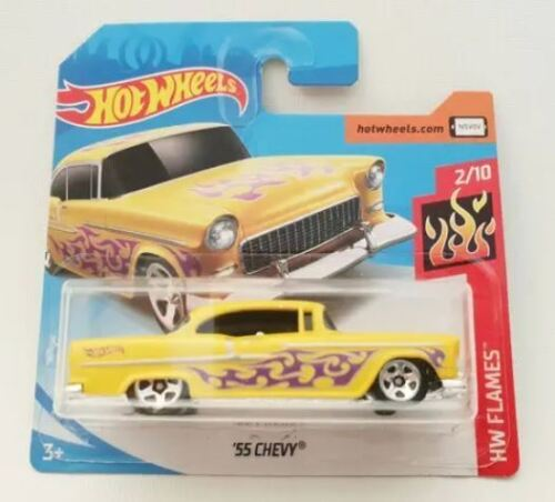 YRTS Hot Wheels 1955 CHEVY Scale 1:64 Metal ¡New!
