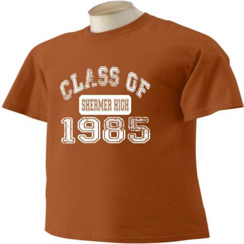 Breakfast Club T-Shirt Shermer High Class of 1985