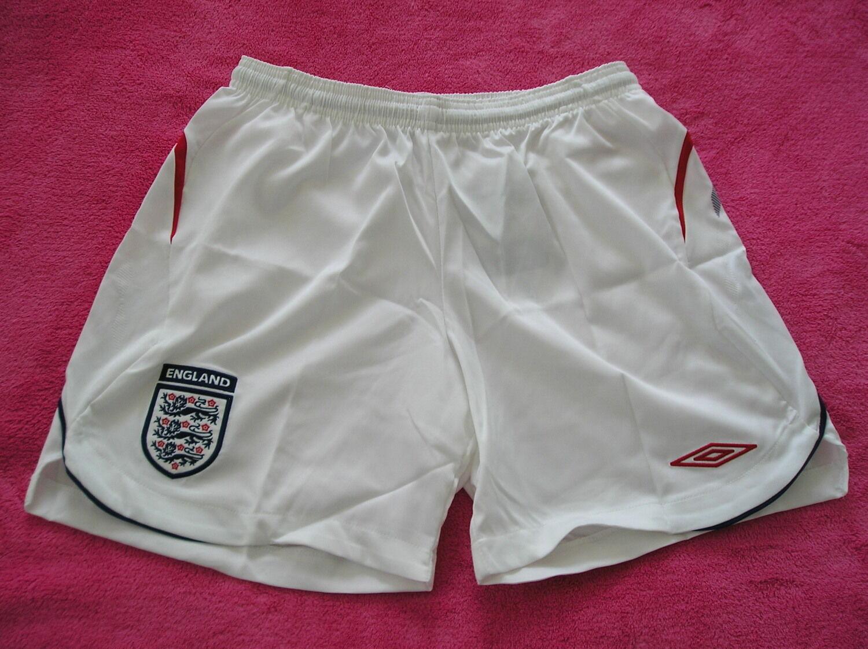 Nwt~Umbro ENGLAND Football Soccer Jersey-Short pant~Donna sz 6(US) 10(UK) 36(E)