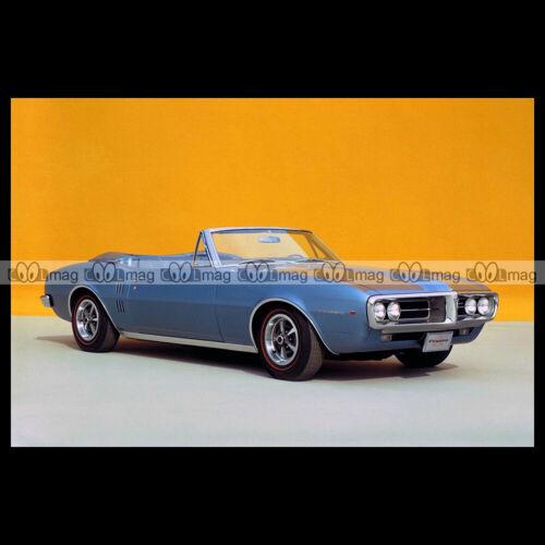 #pha.022652 Photo PONTIAC FIREBIRD CONVERTIBLE 1967 Car Auto