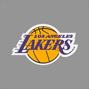 Los Angeles Lakers Nba Team Logo Vinyl Decal Sticker Car