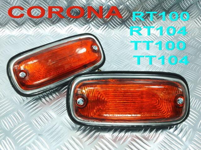 TURN SIGNAL Side Marker LIGHT LAMPS  CORONA RT100 RT104 TT100 TT104