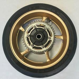 Rear wheel rim tyre disc sprocket straight YAMAHA FZ8 FZ 8  FZ8N 2010