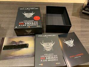 Milleniumm-1-Edizione-Collezzionista-2-DVD-Libro-Fotogrammi-Spanish-Box
