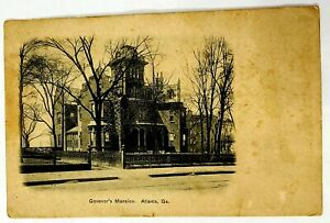 Vintage-Governor-039-s-Mansion-Postcard-Atlanta-Georgia-GA