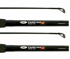 2 X BRAND NEW 12FT 2 PIECE CARP FISHING RODS NGT CARP MAX RODS 2.75 LB