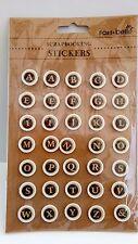 MACCHINA da scrivere ADESIVI macchina da scrivere lettere Chiave Adesivo Scrapbooking Card Making