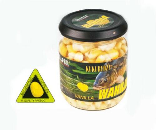 Traper 125 G Contenu angelmais dans le verre Pêche Maïs Différentes Sortes anis Arôme