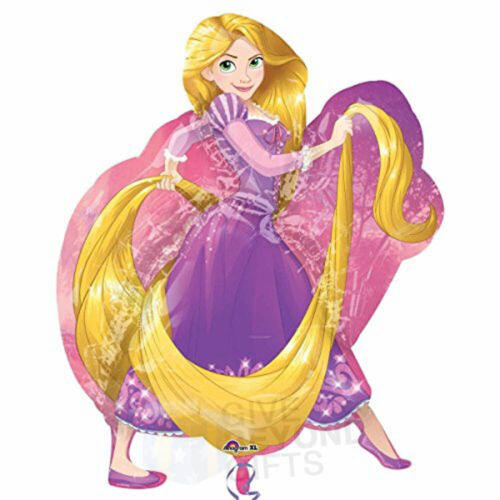 Disney Tangled Princess Rapunzel XL Jumbo 26 x 31 Super Shape Foil Balloon