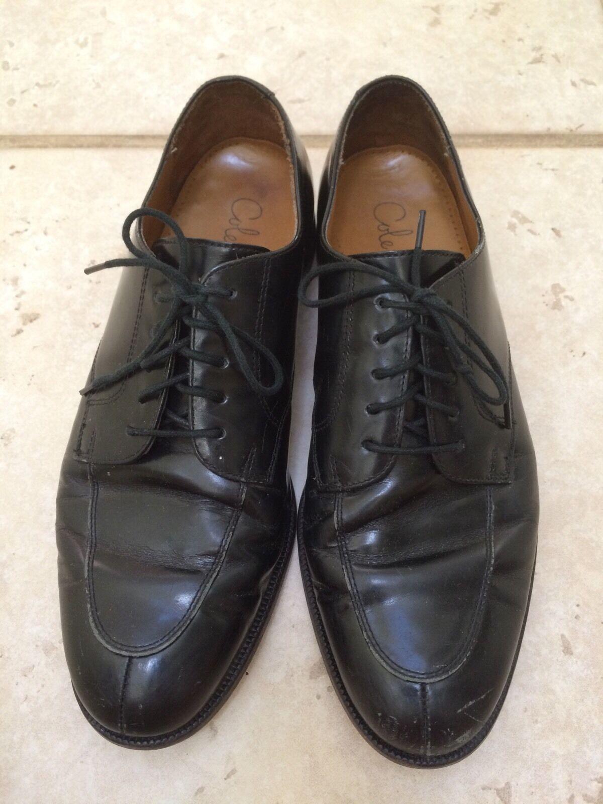 fino al 42% di sconto Cole Haan nero Leather Oxfords scarpe Split Apron Uomo Sz Sz Sz 9.5 D Brazil Orig  149  consegna rapida