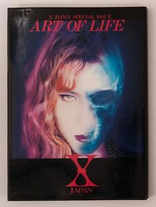 X-JAPAN-SPECIAL-ISSUE-ART-OF-LIFE-Interview-amp-Photo-Book-YOSHIKI-HIDE-FC-Limited