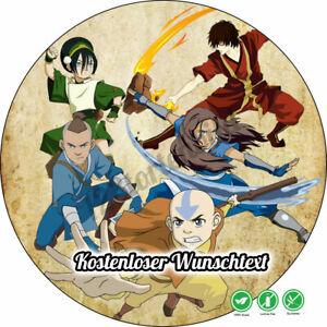 Avatar Herr Der Elemente Tortenbild Tortenaufleger Party Deko Geburtstag Neu