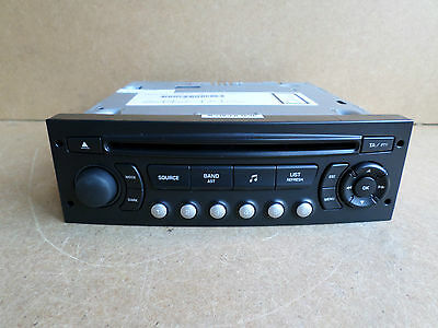 Peugeot 207 307 807 Expert Citroen C2 C3 Berlingo Radio Stereo CD Player RD4