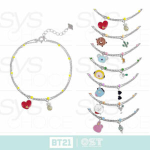 BTS-BT21-Official-Authentic-Goods-Silver-Bracelet-Ver3-by-OST-Tracking-Number
