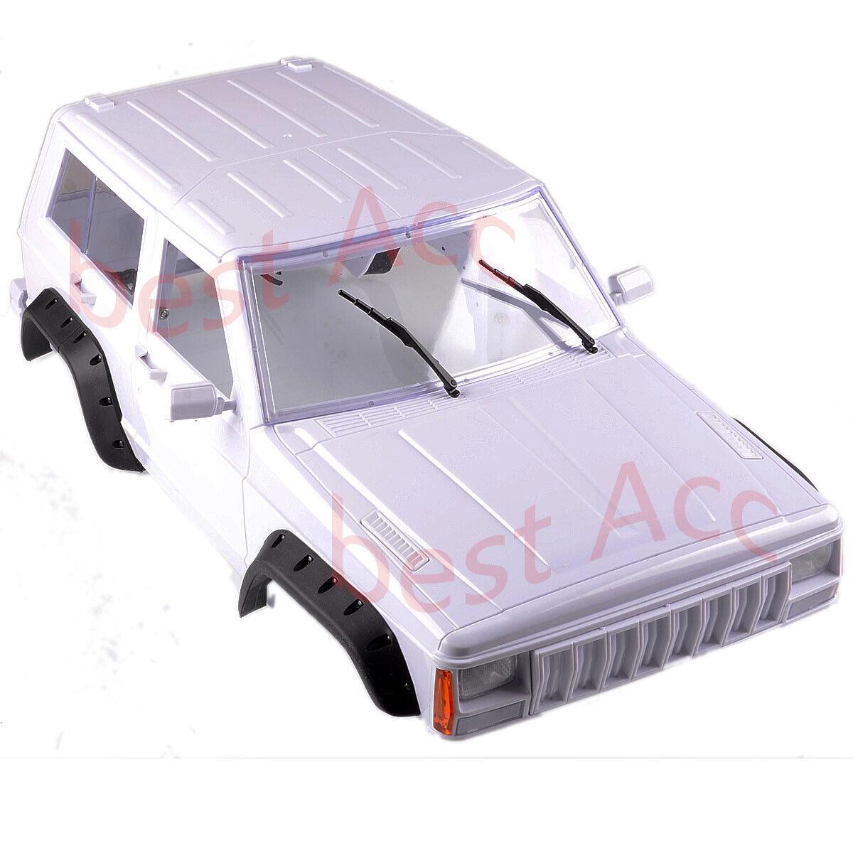 For RC  SCX10 & SCX10 II 90046 90047 313mm ruedabase Hard Plastic corpo Shell 1 10  l'intera rete più bassa